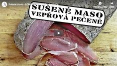 Zajímavé! Pork Loin, Prosciutto, Steak, Food And Drink, Spices, Homemade, Make It Yourself, Cooking, Youtube