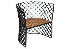 Koi Chair, from the Phillips Collection. $1179 at HomeSav. Love the scales on this chair-fish!