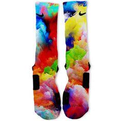 Future Galaxy Custom Nike Elite Socks