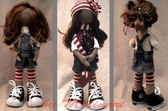 Куклы...волосы делаются из шиньенов