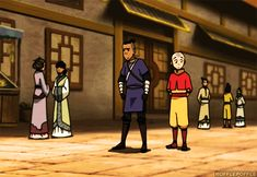 It's Aang's complete lack of a reaction that gets me.