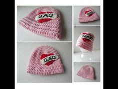 Pink Biker Baby Beanie - I love Dad - Baby #Hat - Handmade Crochet - Ready to Ship #Cap #babyhat https://www.etsy.com/listing/267237325/pink-biker-baby-beanie-i-love-dad-baby?ref=shop_home_active_20
