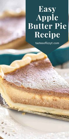 Best Apple Recipes, Pie Recipes, Fall Recipes, Baking Recipes, Sweet Recipes, Holiday Recipes, Favorite Recipes, Recipies, Fun Desserts