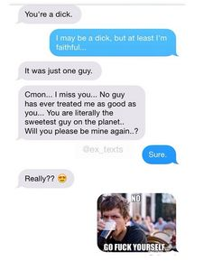 Ultimate Ex Texts That Might As Well Be Made Of Ice @ilykenet