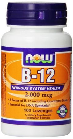 #social #skin Nervous System Health 3 Forms of #B-12 including Co-enzyme Forms Essential for DNA Synthesis* Vegetarian Formula Vitamin B-12 (Cyanocobalamin) is a...