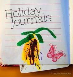 Holiday Journals for student's to fill out while they are at home during Spring Break or Christmas!