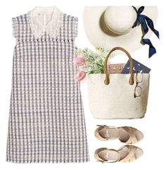 """""""Running Errands"""" by kearalachelle ❤ liked on Polyvore featuring Miu Miu, Fat Face and Castañer"""