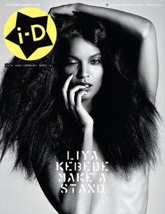 liya kebede for i.d magazine.