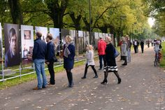Outdoor exhibition design