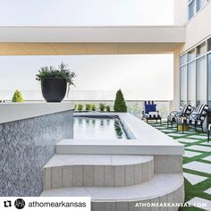 Terrace Swimming Pool With Garden