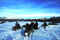 """Snowmobiling is a """"fun rush"""" with fantastic scenery thrown in to the mix."""
