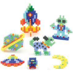 Space Aliens Activity Kit perler beads