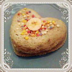 Bowlcake semoule de riz, banane 3sp Ingrédients pour 1 bowlcake: 30g de semoule de riz ou autre 3sp 1 blanc d'oeuf 1cc de levure 3CS de lait de soja 1/2 cc d'arôme amande amère 1 banane écrasée 6g de son de blé (facultati…