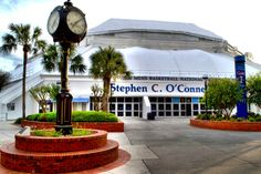 Stephen C. O'Connell Center on the University of Florida campus hosts Gator Volleyball.