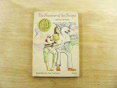 Vintage Book The Summer of the Swans by Betsy Byars Newberry Book Newberry Medal Scholastic Book Children's Fiction Teen Book…