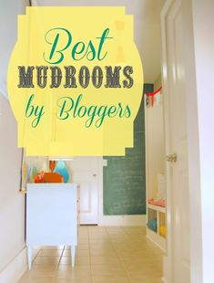 15+ mudrooms from the real world: a collection of the best mudrooms by bloggers at Remodelaholic. #mudrooms