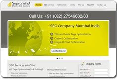 The Supramind website that we built, has good navigation features and is a content rich website. We will showcase projects like these at the 2013 E Conference in Paris.