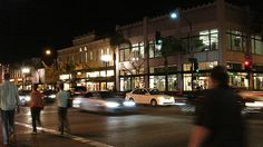 New research can help planners understand how specific decisions will affect transport activity (how and how much people travel), and their ultimate economic, social, and environmental impacts. Old Town Pasadena, Research, Benefit, Street View, California, Urban, Night, Search, Science Inquiry