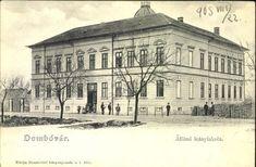 Dombóvár; Állami leányiskola, 1905.