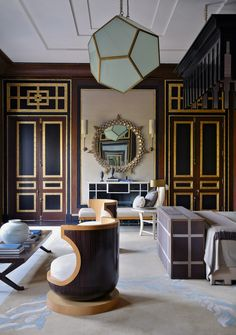Decorator Jean-Louis Denio's interiors of a house in New Delhi.. ceilings, walls, doors
