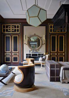 Decorator Jean-Louis Denio's interiors of a house in New Delhi.. ceilings, walls, doors