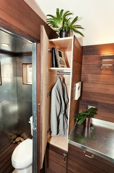 MY FAVORITE TINY HOUSE SO FAR!!! the miterbox tiny house on wheels 010   The Miter Box: Modern Tiny House on Wheels by Shelter Wise LLC