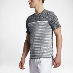 57d3fac6 Men's Nike Sportswear (NSW) Court Dry Challenger Tennis Top features  Dri-FIT technology to help keep you cool and comfortable.