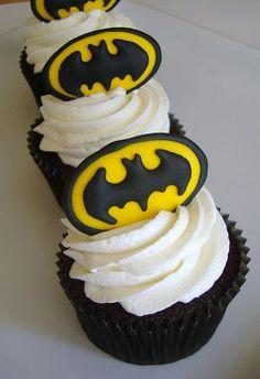Cupcakes de Batman