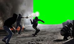 Pierre Ledford, Digital Greenscreens / Jerusalem 2014 ©Pierre Ledford & Ésèpe de Zélée