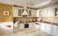 Проект U17 Оригинальная угловая кухня под заказ в Минске. Больше интересных моделей на сайте: http://www.mebel-lux.by/kuxni/standart/