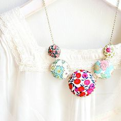 The Liberty Statement Necklace by NestPrettyThingsShop on Etsy.