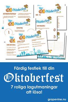 Oktoberfest tips på lekar - Legend Photo Oktoberfest Outfit, Oktoberfest Tips, Grape Vines, Stockholm, Website, Mat, Vineyard Vines, Oktoberfest Costume, Vines