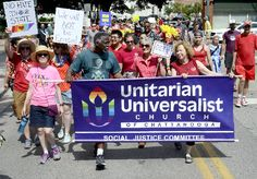 As part of the National Equality March, Chattanooga's LGBT community held a rally and march beginning on 10th Street and ending at the Riverbend Festival site Sunday afternoon. CTFP 12 june 2017