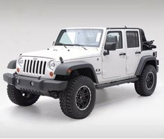 Smittybilt - Sure Step 3 inch Diameter Side Bars - Fits 2007 to 2016 JK Wrangler Unlimited and Rubicon Unlimited - 4WD.com