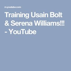 Thanks to everyone who watches my channel:) Don't forget to Like and Comment. Cardio Abs, Usain Bolt, Serena Williams, Don't Forget, Channel, Training, Watches, Youtube, Wristwatches