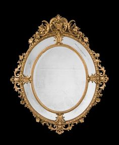 19th Century Gilt wood Mirror - Windsor House Antiques