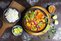 Thai Coconut Curry Butternut Squash Soup - Nerds with Knives Chicken Massaman Curry, Massaman Curry Paste, Thai Coconut, Coconut Curry, Curry Recipes, Potato Recipes, Chicken Recipes, Savoury Recipes, Recipe Chicken