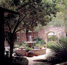A. Hays Town courtyards - Bing Images I have his book-lovely