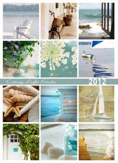 2012 Calendar Beach Photography by cottagelightstudio