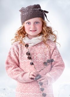 Blink sweater pink Copyright: Mole-Little Norway Winter Hats, Fall Winter, Autumn, Norway Winter, Little Girl Fashion, Mole, Pink Sweater, Photo Sessions, Little Girls