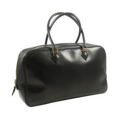 Hermès Vintage Black Plume Bag