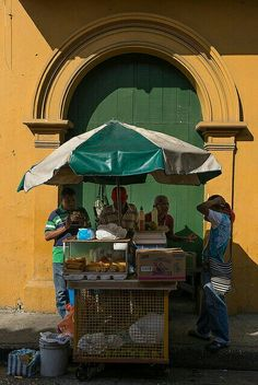 -Food stand, Cartagena Colombia..
