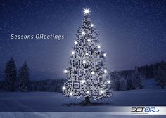 SEASONS QREETINGS FROM @setqr
