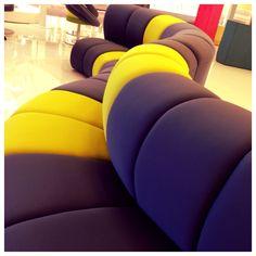 Nibbler [design @Antonio Piciulo]   #yellowgrey #nibblersofa #modularsofa #divanomodulare