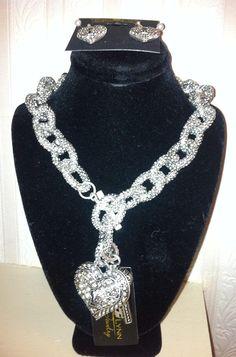 Precious Bling!! LOVE Big!-$42 Visit and order my website www.tracilynnjewelry.net/pamelagibbs or email me glamrocks01@gmail.com