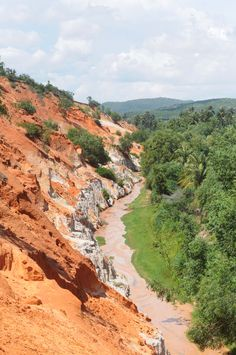 The Fairy Stream The Red sand dunes Mui Né Vietnam