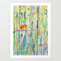 grandir Art Print by Sylvie Demers - $20.00