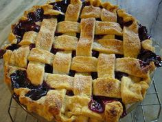 Bumble Berry Pie Recipe from Maggie Mefford Watte