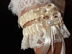 Ivory Bridal Garter, White Wedding Garter, Bridal Lace, Lace Wedding, Turquoise And Purple, Purple Wedding, Tape Measure, Thigh, Menu