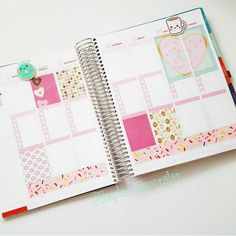 Ready to fill in this week. So glad I had some time to relax and decorate.  #planner #planneraddict #plannerjunkie #plannernerd #plannergoodies #plannerlove #eclp #eclifeplanner #erincondren #erincondrenlifeplanner #weloveec #mambi #mambihappyplanner #happyplanner #thehappyplanner #filofax #filolove #washitape #washi #stickers #target #targetdollarspot #bullseyesplayground by theplannermonster